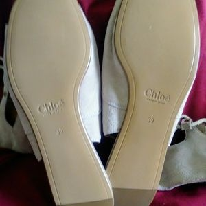 """Chloe Shoes - Chloé """"Foster"""" Tall Gladiator Flat Sandals"""